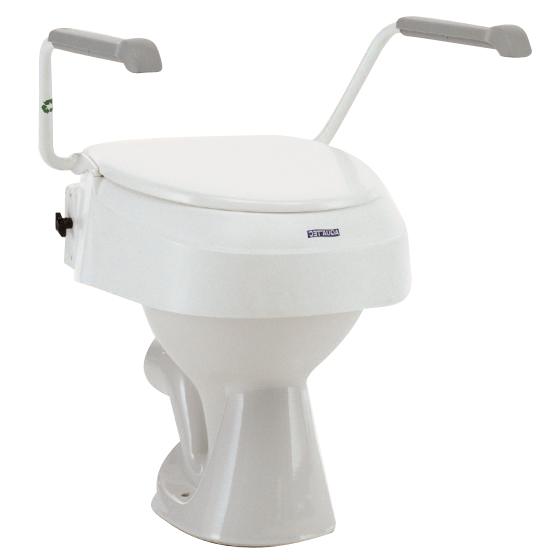 Aquatec 900 - Surélévateur de wc/toilettes avec accoudoi...