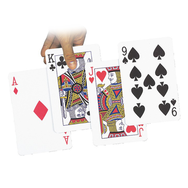 Jeu de 54 cartes géantes 718 - Jeu de société...