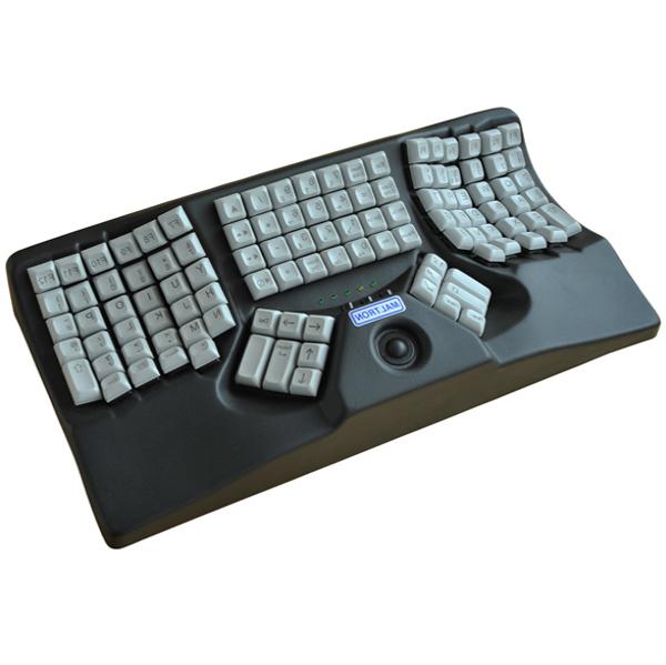3D maltron avec trackball - Clavier d'ordinateur...