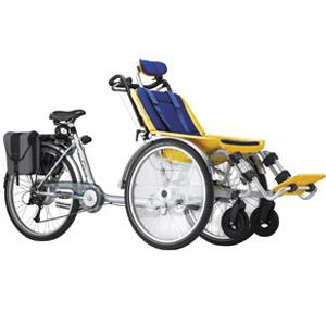 Rollfiets - Cycle pour pousser ou tirer un fauteuil roul...