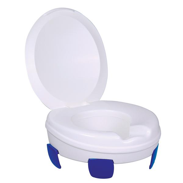 Clipper II-III - Surélévateur de wc/toilettes avec accou...