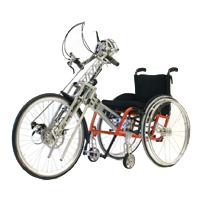 NJ1 Adaptative - Troisième roue pour fauteuil roulant...