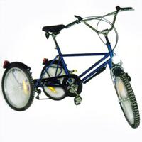 Tricycle Training BMX - Tricycle à deux roues arrière pr...