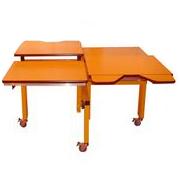 Table de groupe - Table de travail à hauteur réglable...