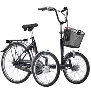 T-Bike - Tricycle à deux roues avant...