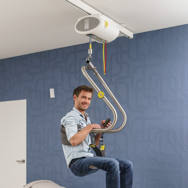 Moteur fixe au plafond - Lève-personne fixe au plafond s...