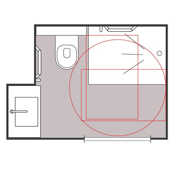 Noria - Cabine intégrale wc/toilettes...