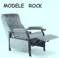 Rock - Fauteuil de salon et/ou de repos...