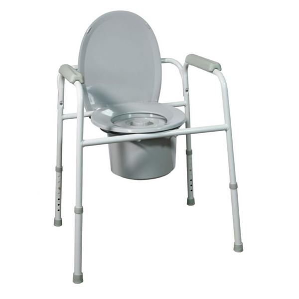 Chaise garde-robe 3 en 1 Talis - Cadre de wc / toilettes...