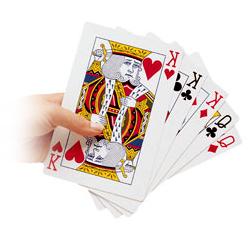Jeu de 54 cartes géantes 851004 - Cartes ...