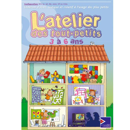 L'atelier des tout-petits - Logiciel d'apprentissage...