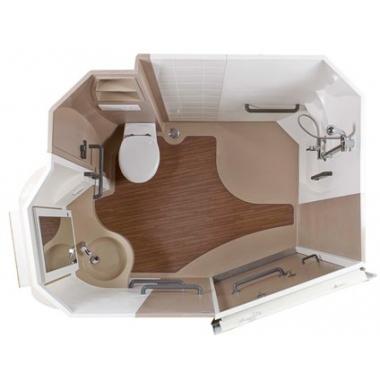Désirade 5 - Cabine intégrale wc/toilettes...