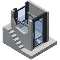 ECX - Plateforme élévatrice verticale...
