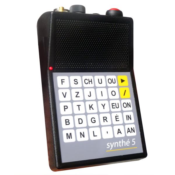 Synthé 5 - Appareil de communication par synthèse vocale...