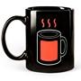Mug à température visible