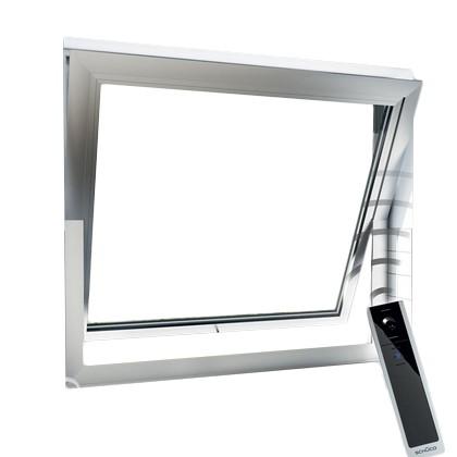 Fenêtre à fonction oscillo-battante motorisée